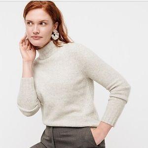 J. Crew Mockneck Sweater in Super Soft Yarn